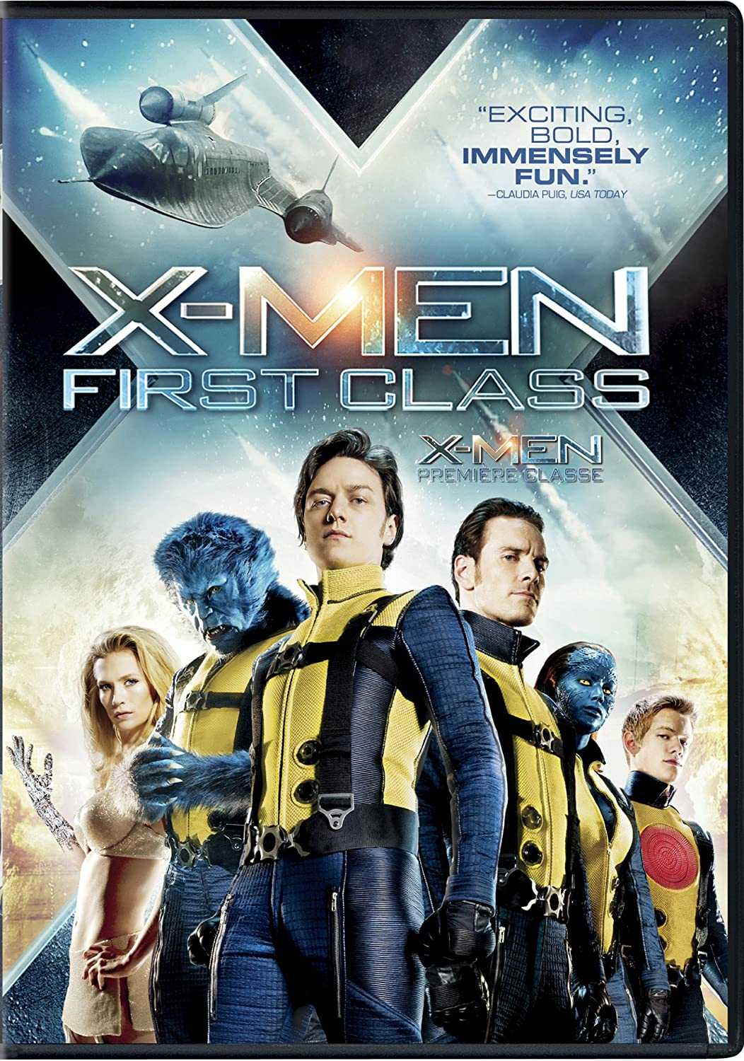X-Men First Class 2011 Hindi Dual Audio 492MB BluRay ESubs Download