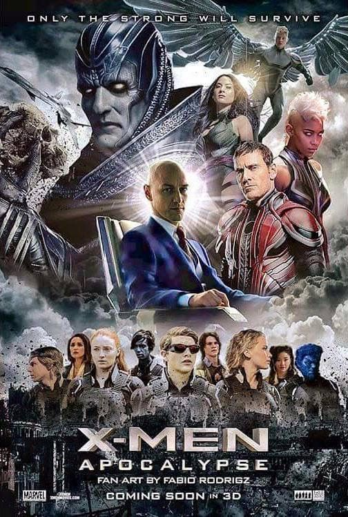 X-Men Apocalypse 2016 Hindi Dual Audio 450MB BluRay Download