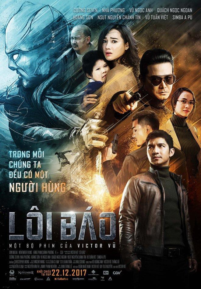 Lôi Báo 2017 Hindi Dual Audio 408MB HDTVRip Download