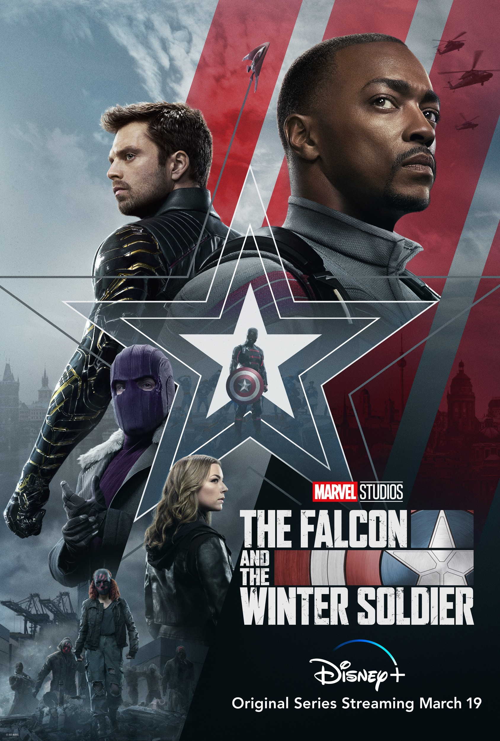 The Falcon and the Winter Soldier 2021 S01 Hindi DSNP Original Series Official Trailer 1080p HDRip 25MB Download