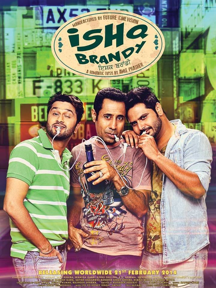 Ishq Brandy 2014 Punjabi 400MB HDRip Download