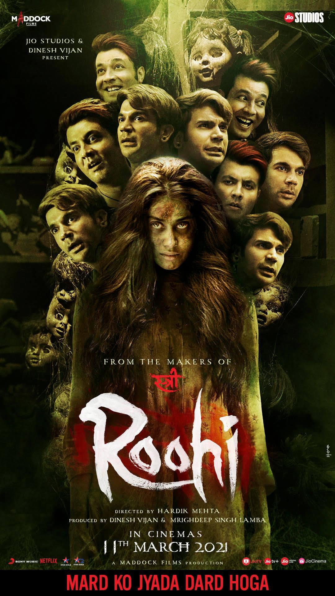 Roohi 2021 Hindi NF HDRip 400MB Download