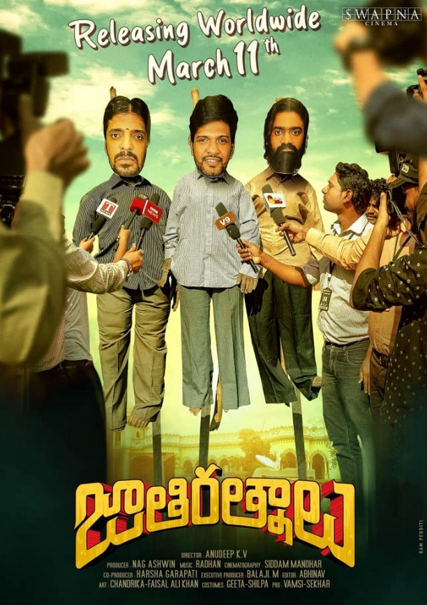 Jathi Ratnalu 2021 Telugu Movie 480p | 720p HDRip 435MB | 1.3GB Download