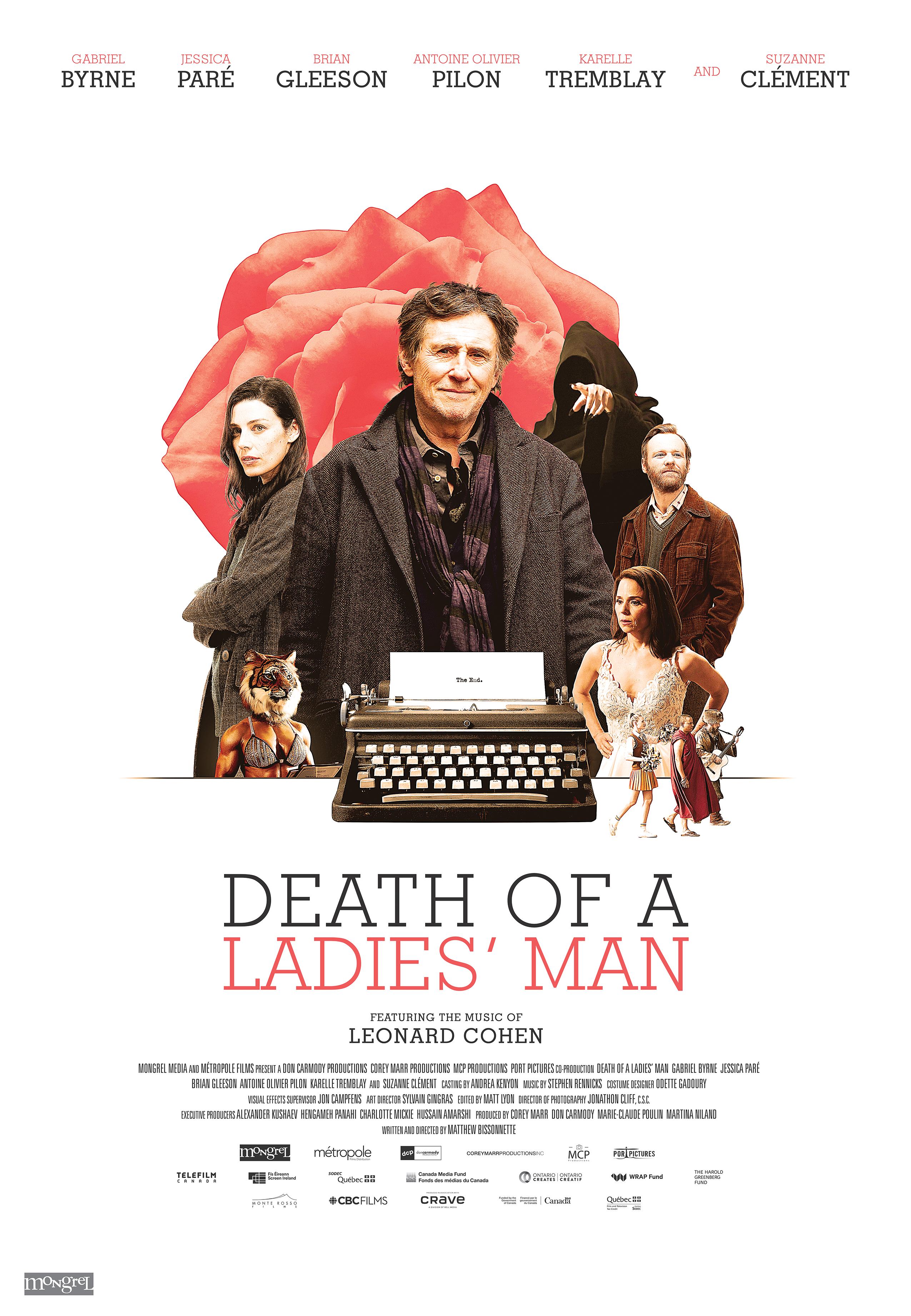 Death of a Ladies' Man 2021 English 720p HDRip 800MB   300MB Download