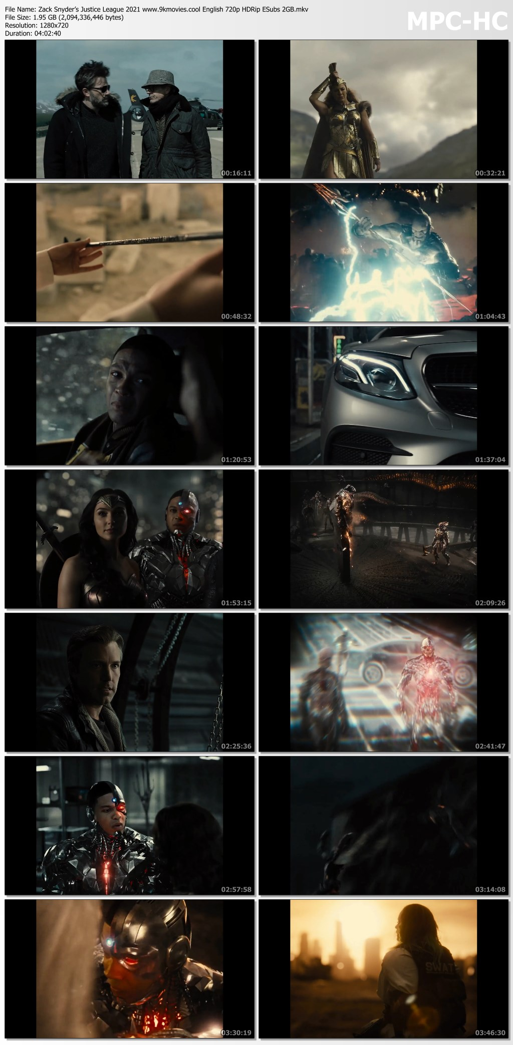 Zack Snyder's Justice League 2021 screenshot HDMoviesFair