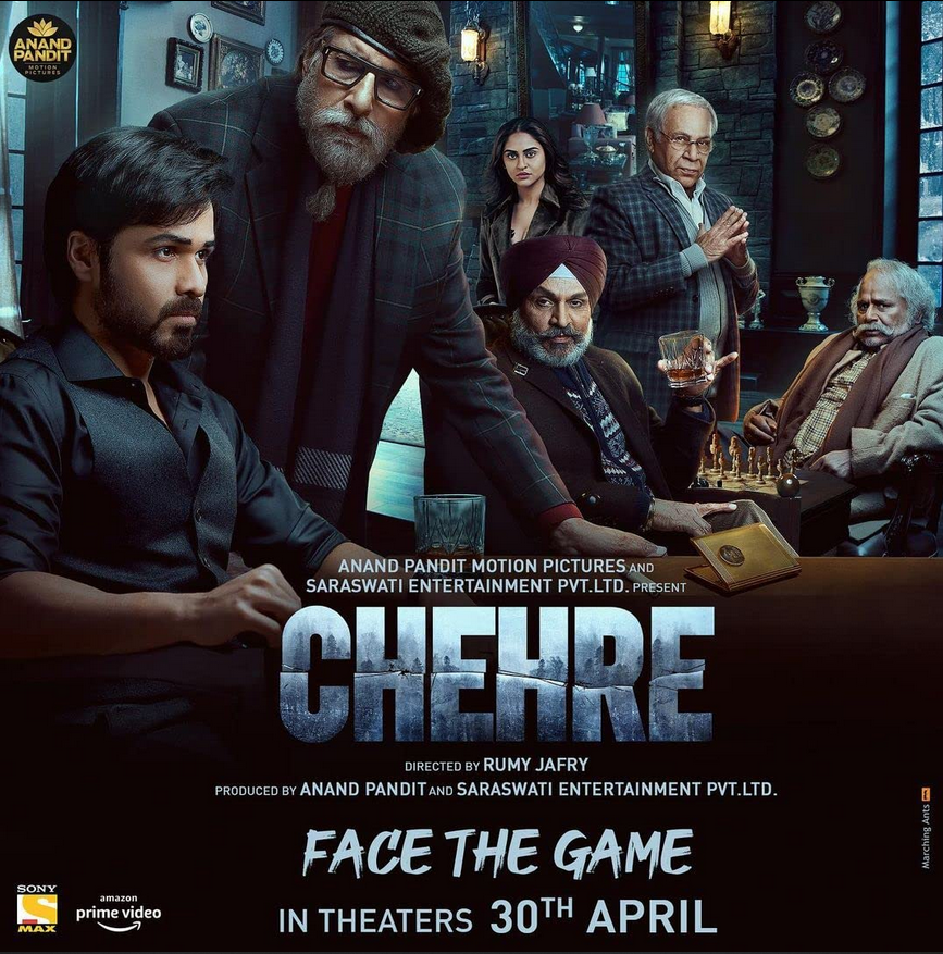 Chehre 2021 Hindi Official Trailer 1080p HDRip Download