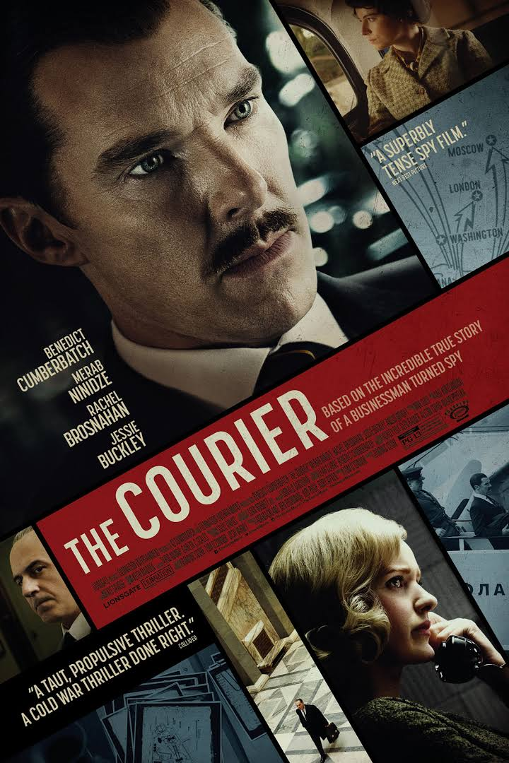 The Courier (2021) Hindi (HQ FAN DUB) Dual Audio 400MB WEBRip 480p x264