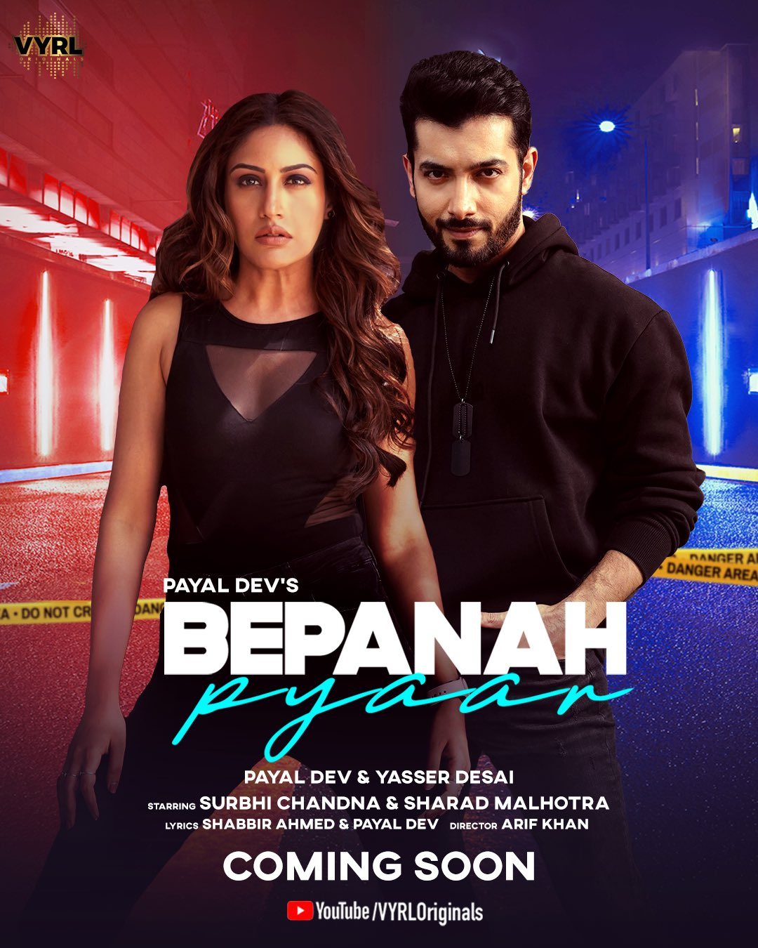 Bepanah Pyaar By Payal Dev & Yasser Desai Official Music Video 1080p HDRip 61MB Download