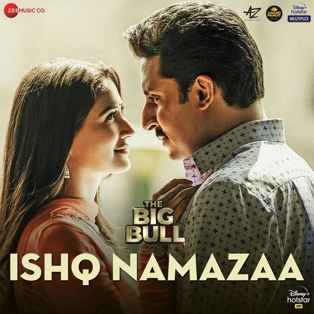 Ishq Namazaa (The Big Bull) 2021 Hindi Video Song 1080p HDRip 55MB Download