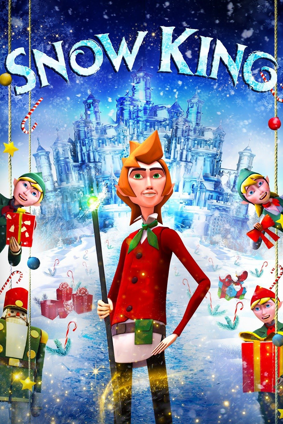 The Wizard's Christmas Return of the Snow King (2016) Hindi Dual Audio 480p HDRip ESubs 300MB Download