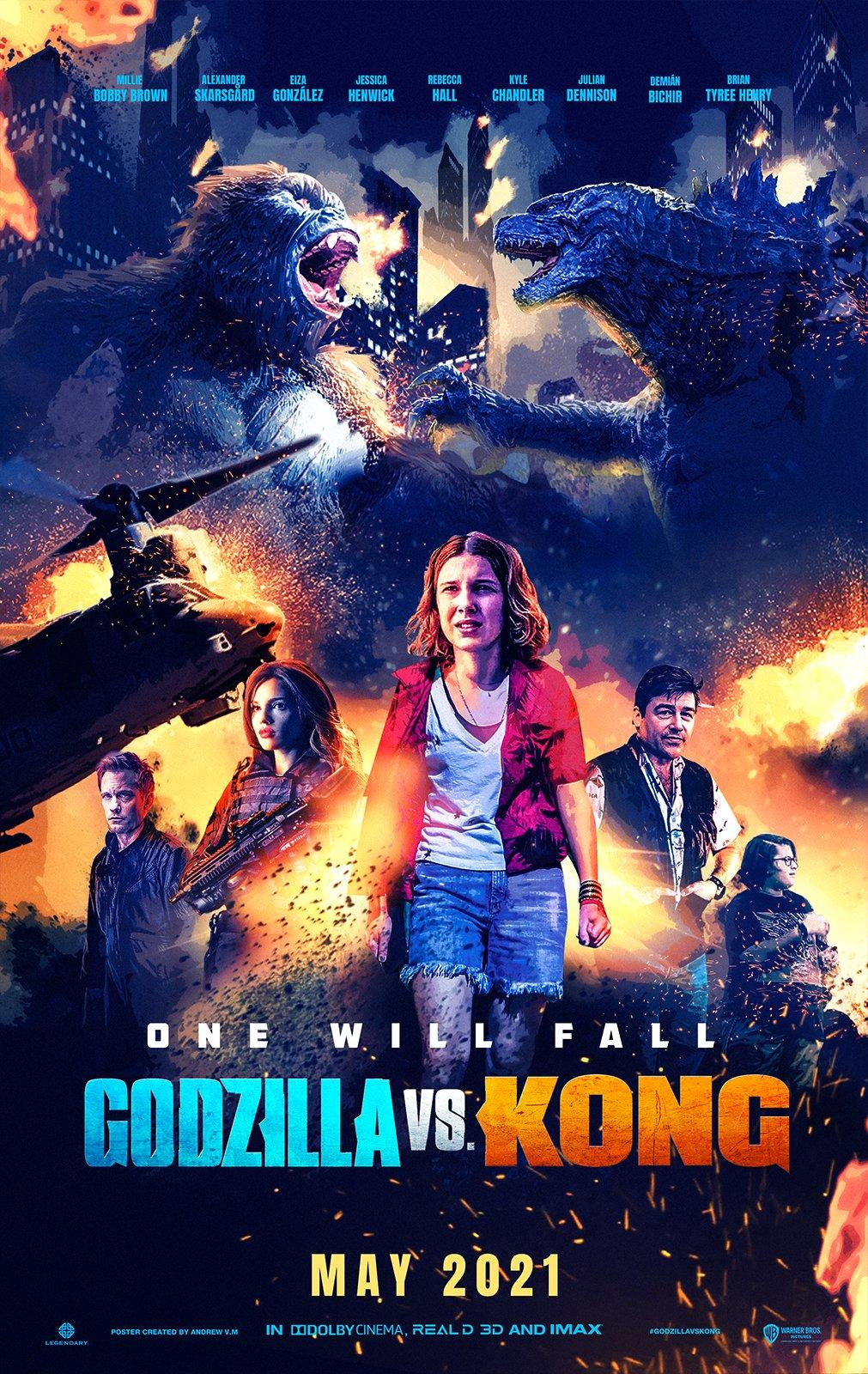 Godzilla vs. Kong 2021 Hindi ORG Dual Audio 720p HDRip ESubs 900MB Download