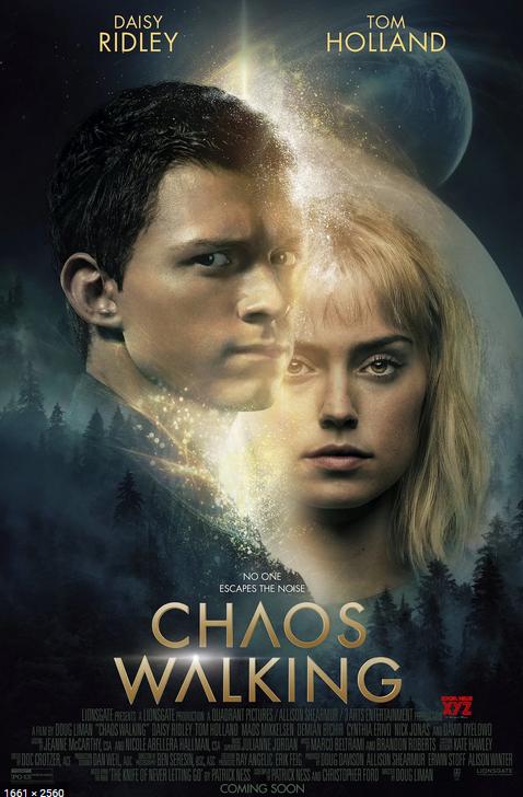 Chaos Walking 2021 English 1080p HDRip ESub 2.1GB Download