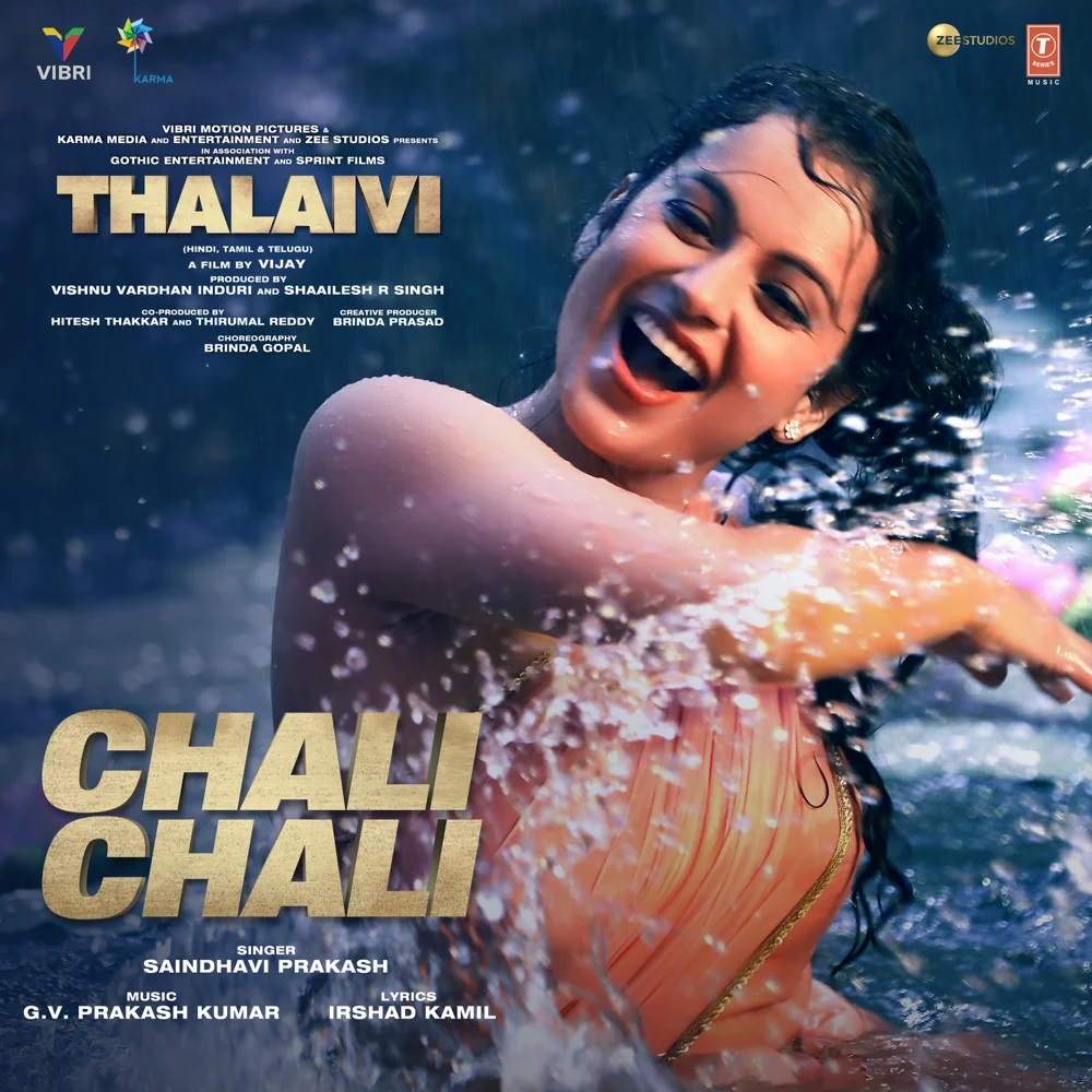 Chali Chali (Thalaivi 2021) Hindi Video Song 1080p HDRip 35MB Download