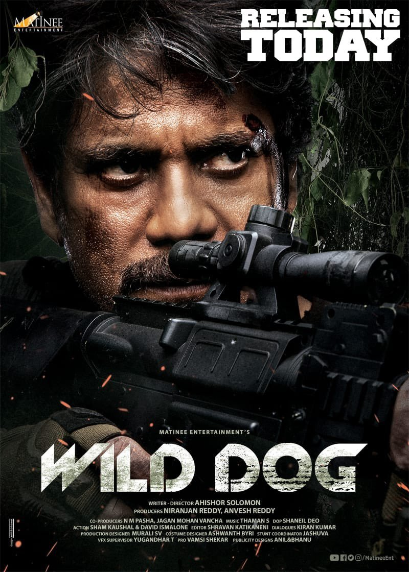 Wild Dog 2021 Multi Audio HDRip 710MB Download