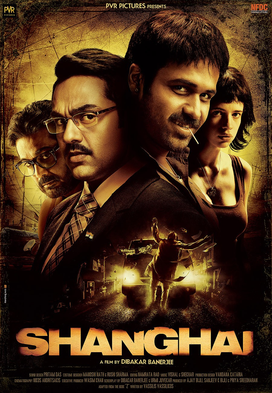 Shanghai 2012 Hindi Movie 350MB BluRay ESubs Download