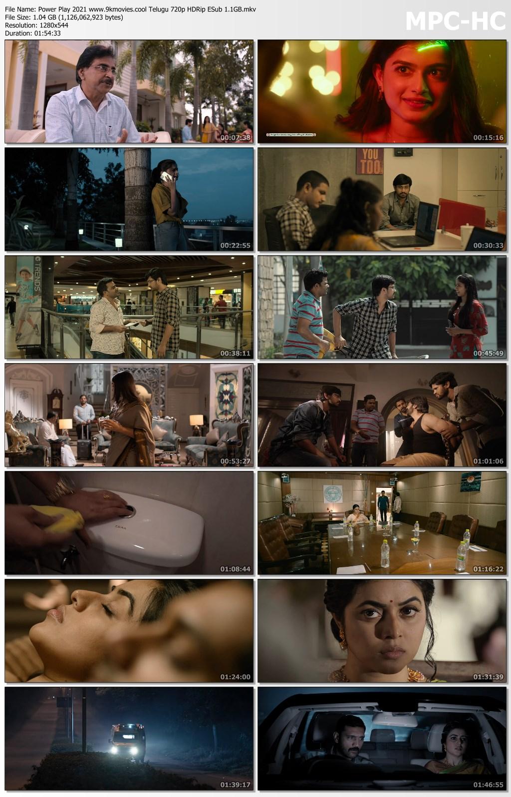 Power Play (2021) New South Hindi Movie | HQ HDRip | 480p [350MB] | 720p [1GB]