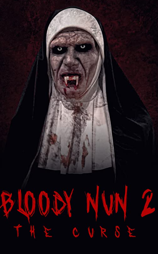 Bloody Nun 2 The Curse 2021 English 720p HDRip ESubs 800MB | 250MB Download