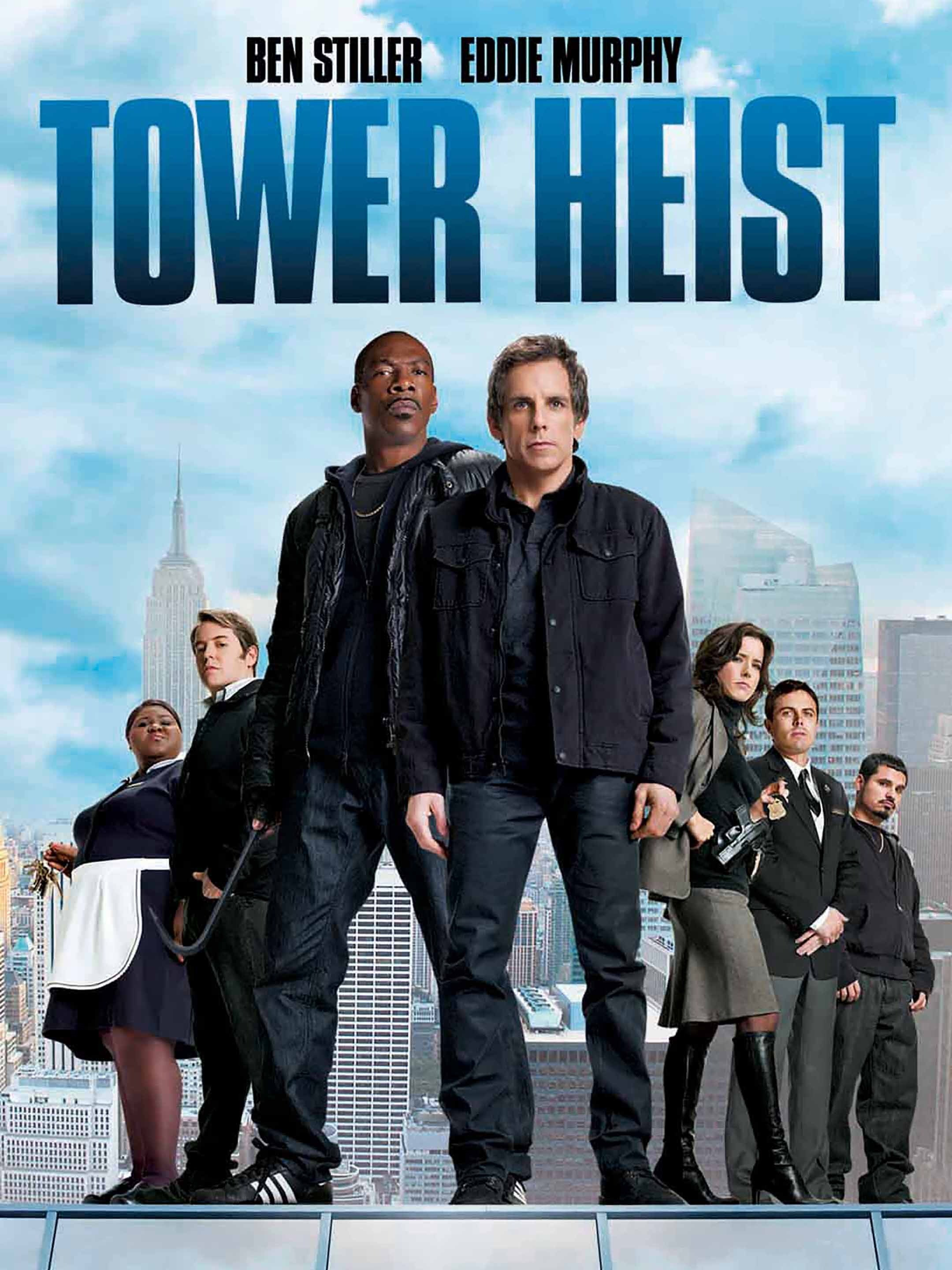 Tower Heist 2011 Hindi Dual Audio 385MB BluRay ESubs Download