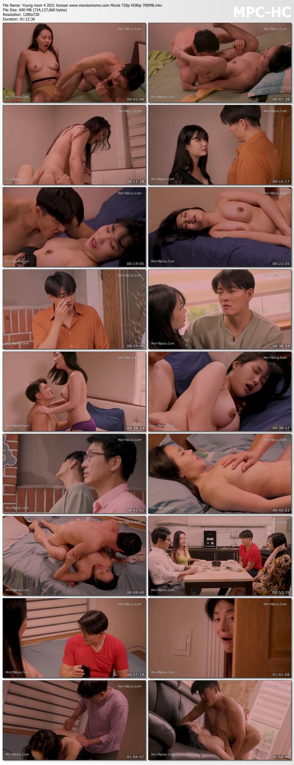 Young mom 4 2021 Korean www.moviesmomo.com Movie 720p HDRip 700MB.mkv thumbs - 18+ Young mom 4 2021 Korean Movie 720p HDRip 700MB x264 AAC