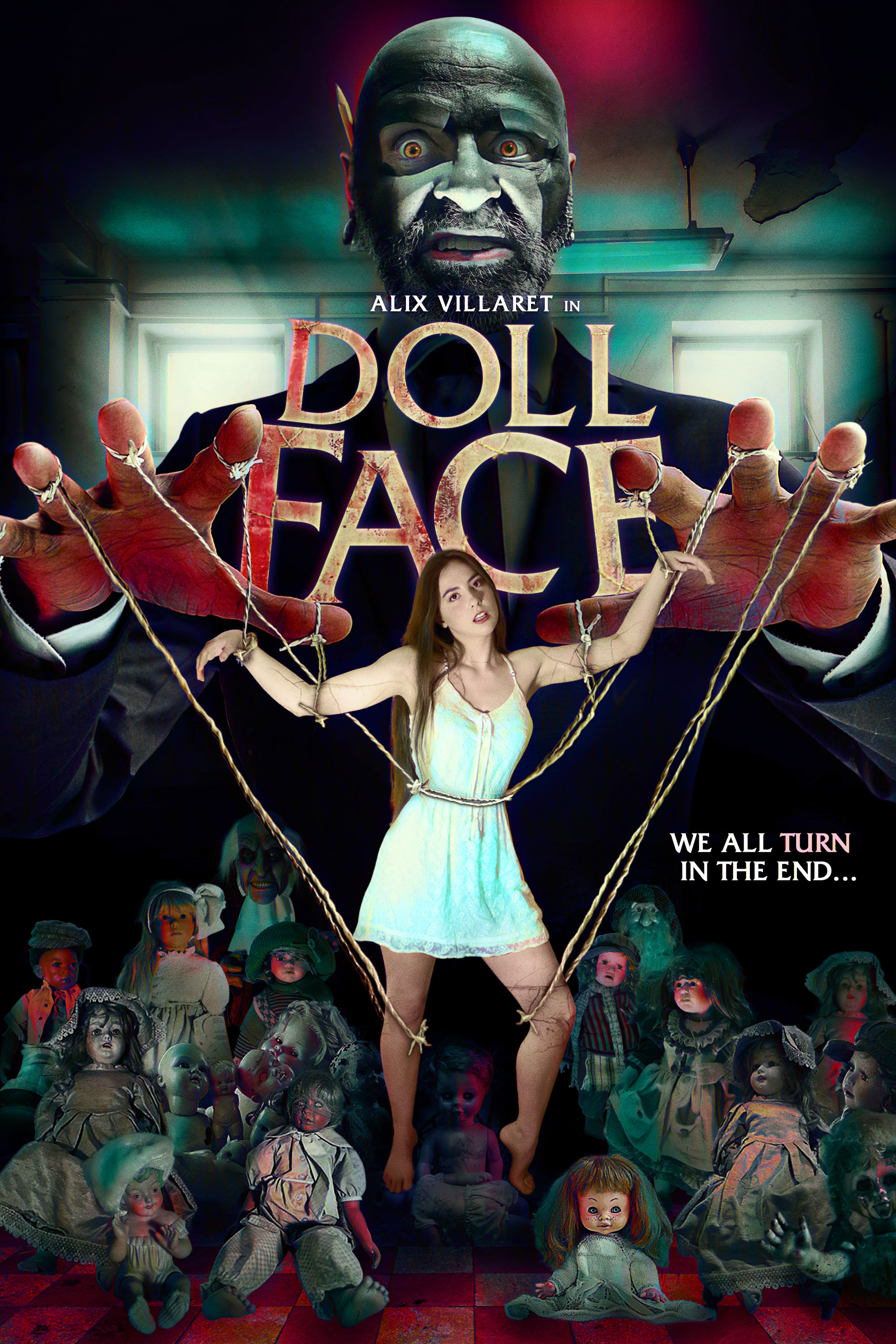 Doll Face 2021 English 720p HDRip ESubs 796MB | 250MB Download