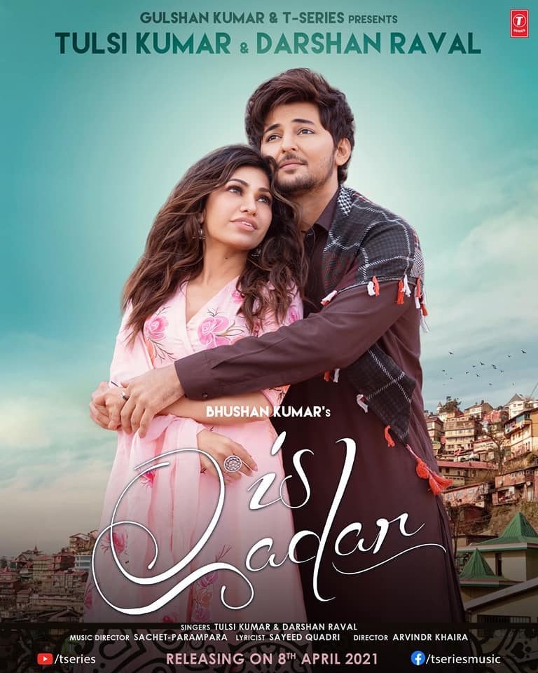 Is Qadar By Darshan Raval 2021 Hindi Official Music Video 1080p HDRip 76MB Download