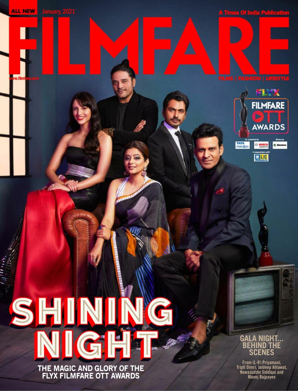 Filmfare Awards 2021 Hindi 720p HDRip 900MB | 400MB