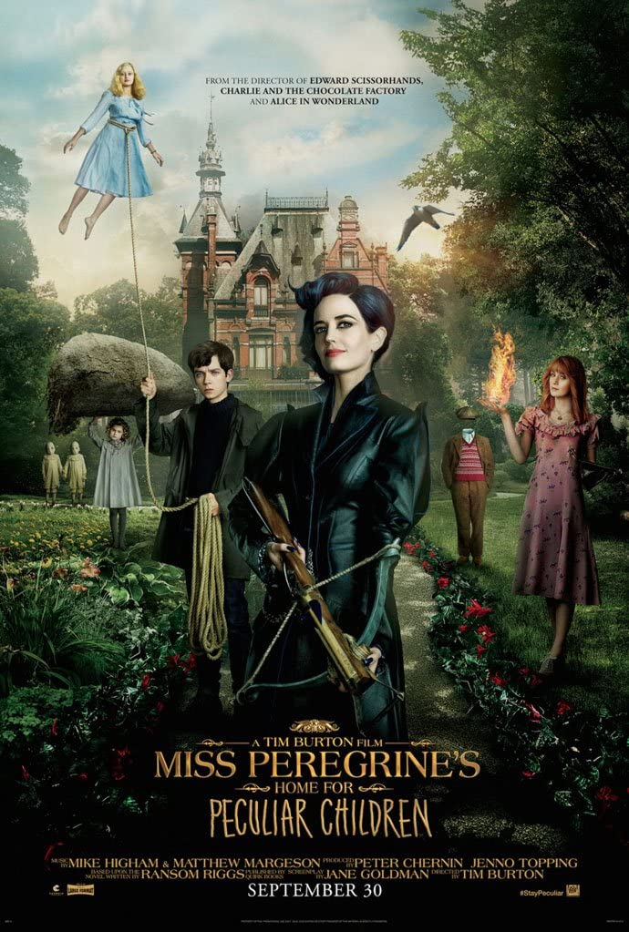 Miss Peregrine's Home for Peculiar Children 2016 Hindi Dual Audio 450MB BluRay Download
