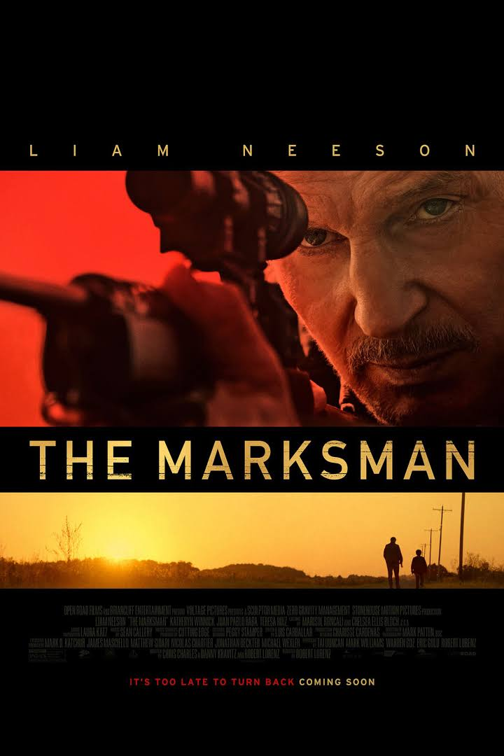 The Marksman 2021 Dual Audio Hindi 400MB HDRip ESub Download