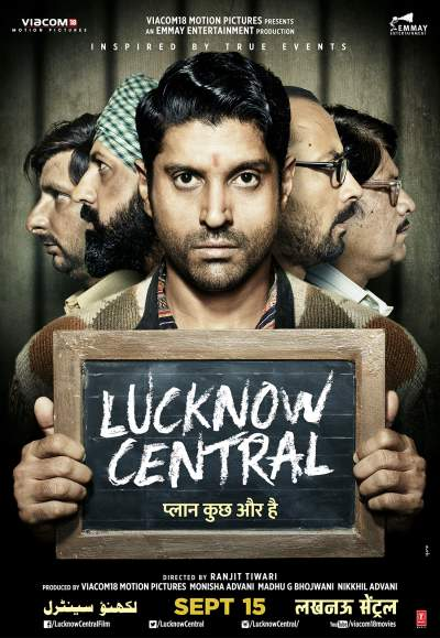 Lucknow Central 2017 Hindi Movie BluRay 400MB Download