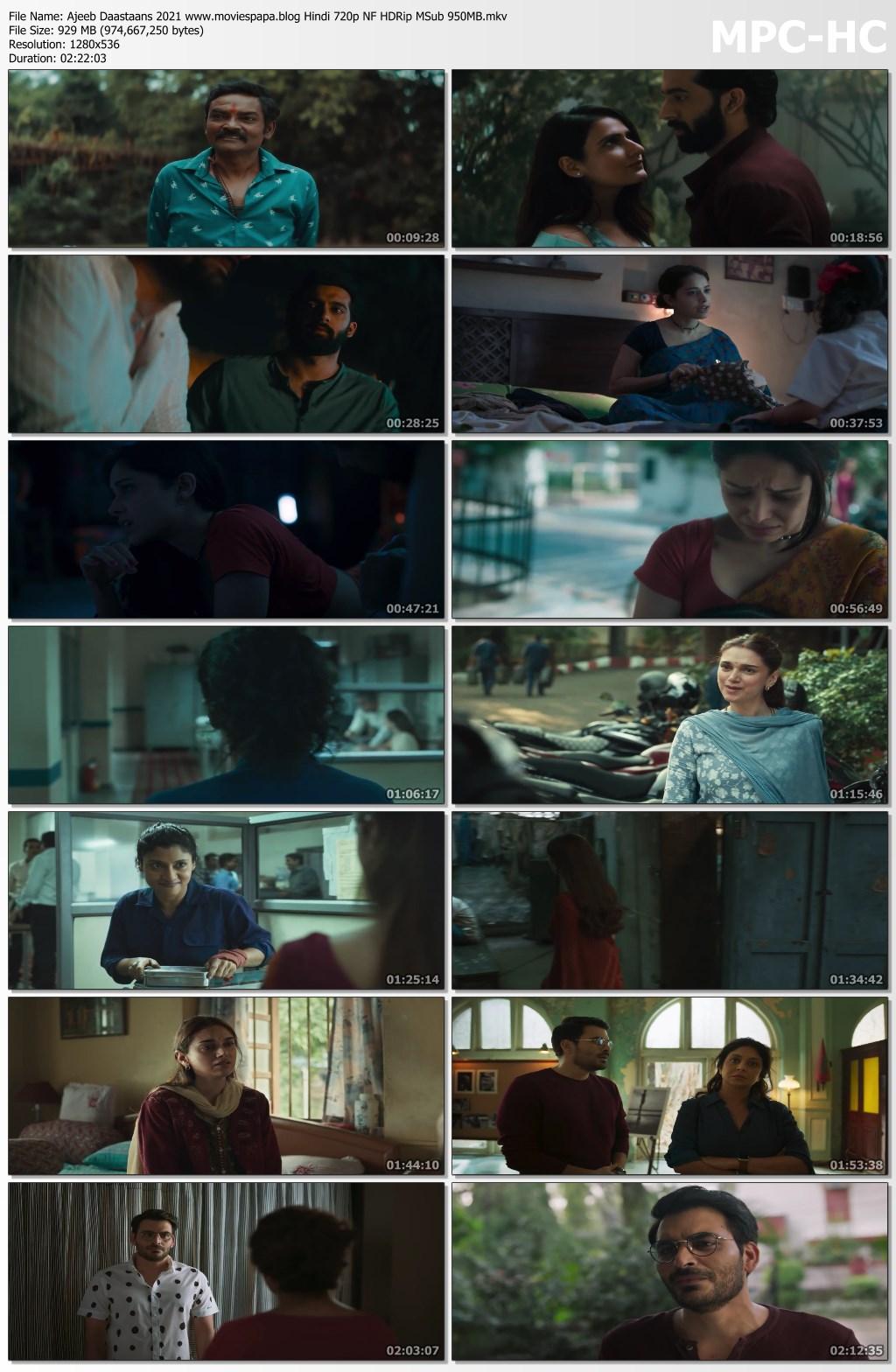 Ajeeb Daastaans 2021 screenshot HDMoviesFair
