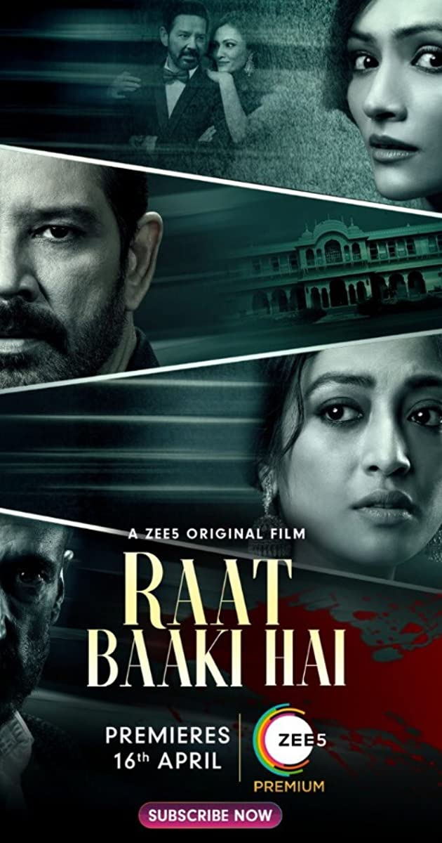 Raat Baaki Hai 2021 Hindi Movie 1080p ZEE5 HDRip ESub 1.3GB Download