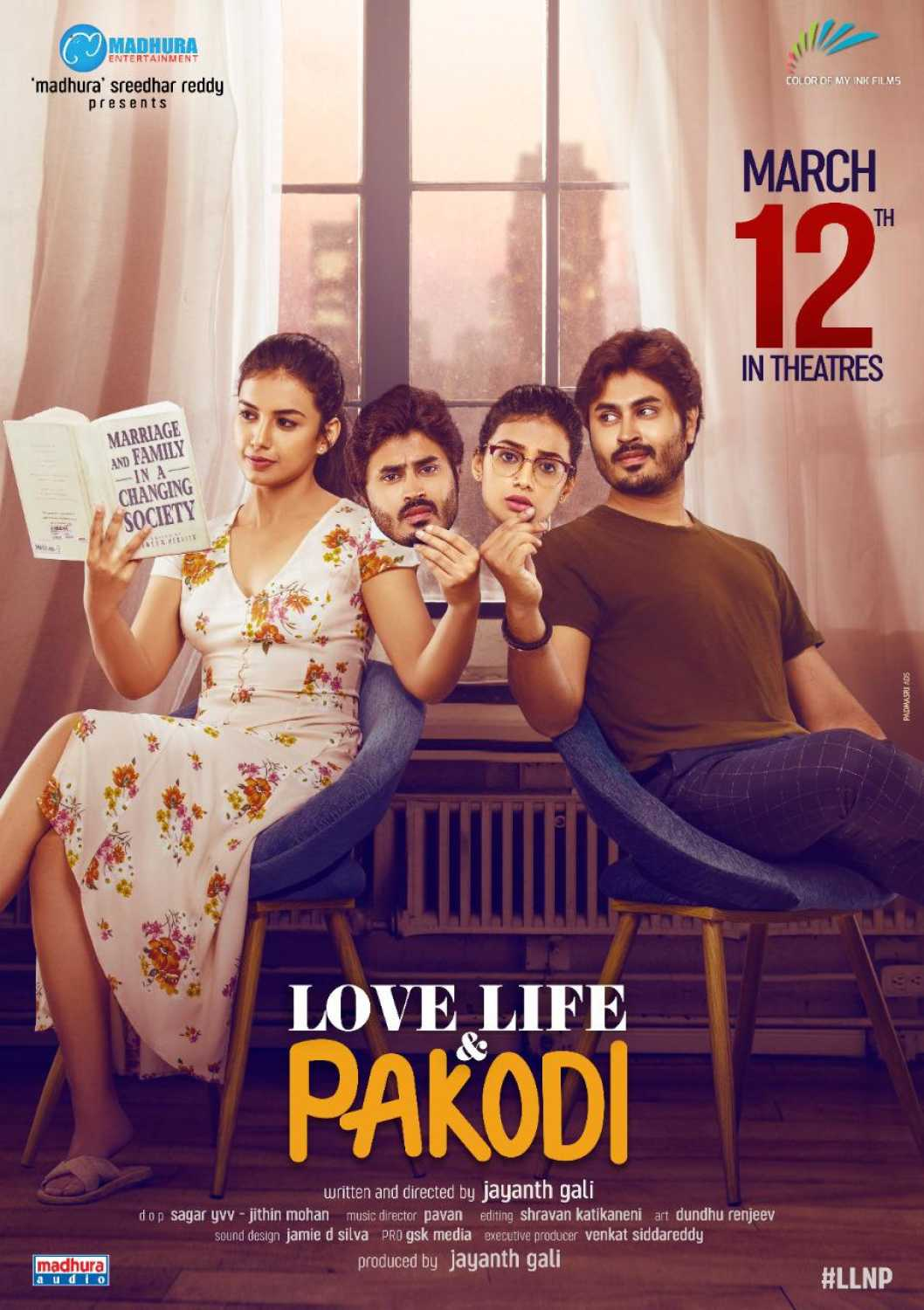 Love Life and Pakodi 2021 Telugu Movie 720p HDRip 950MB Download