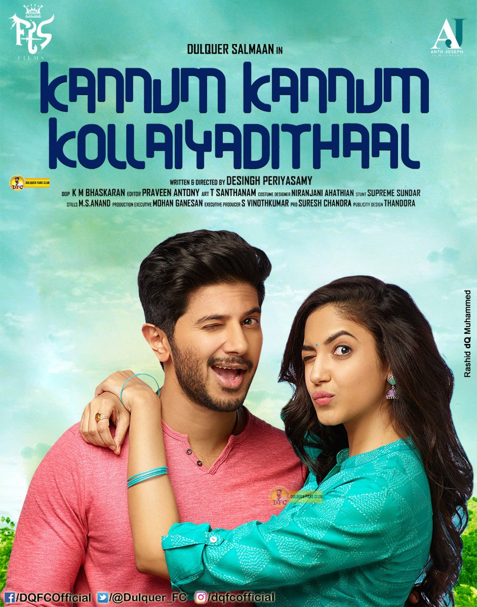 Kannum Kannum Kollaiyadithaal 2020 ORG Hindi Dubbed 720p HDRip 1GB Download