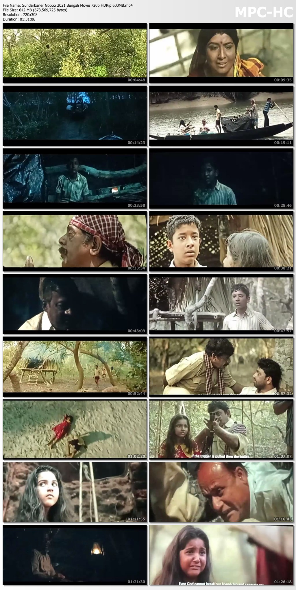 Sundarbaner Goppo 2021 Bengali Movie 720p HDRip 600MB.mp4 thumbs
