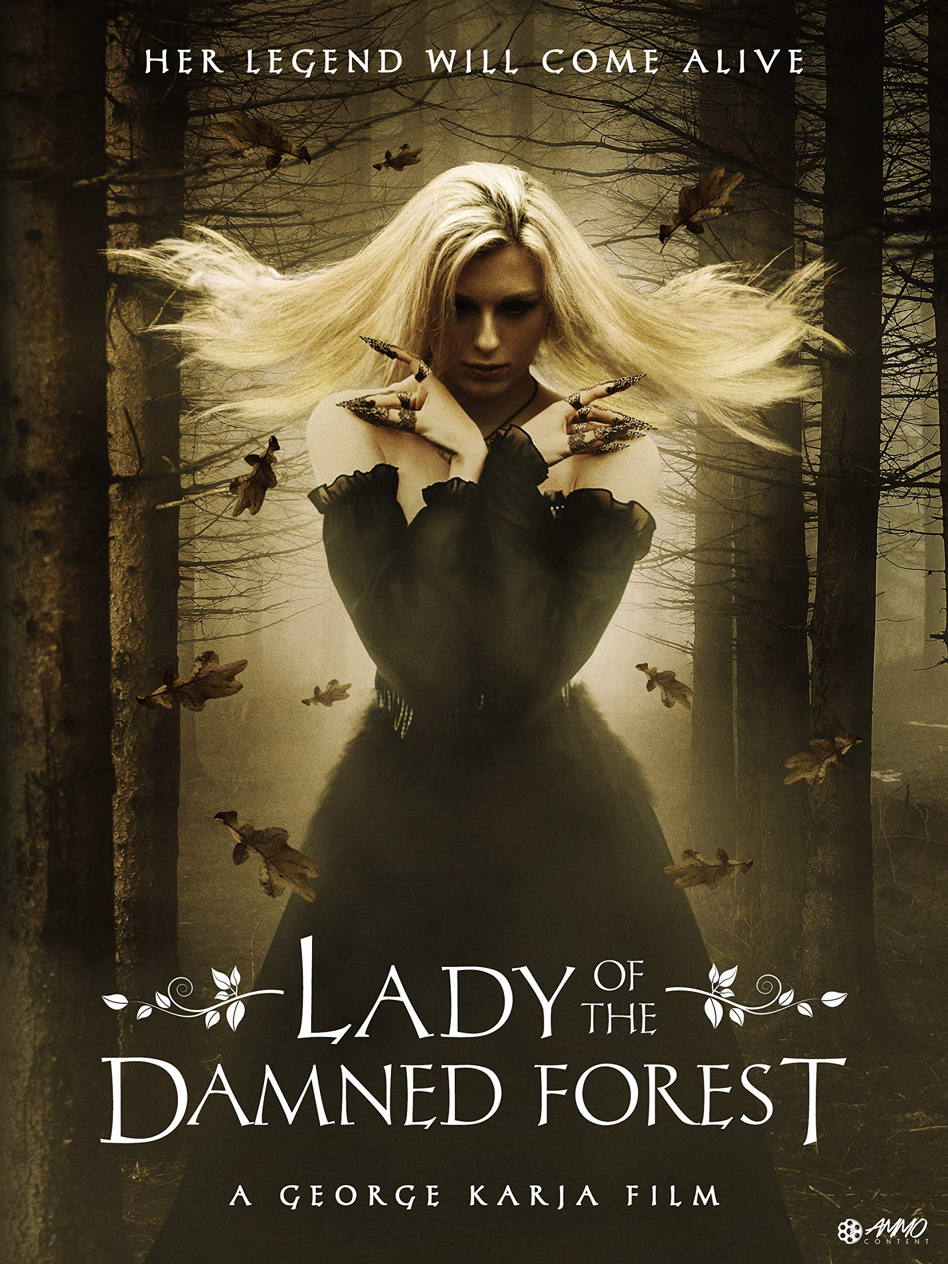 Lady of The Damned Forest 2017 Hindi Dual Audio 720p HDRip ESubs 1.1GB x264 AAC