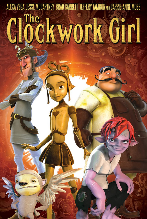 The Clockwork Girl 2021 English 720p HDRip 800MB | 250MB Download