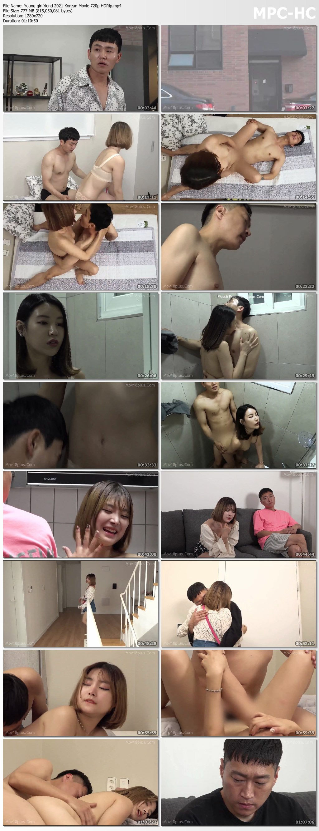 Young girlfriend 2021 Korean Movie 720p HDRip.mp4 thumbs