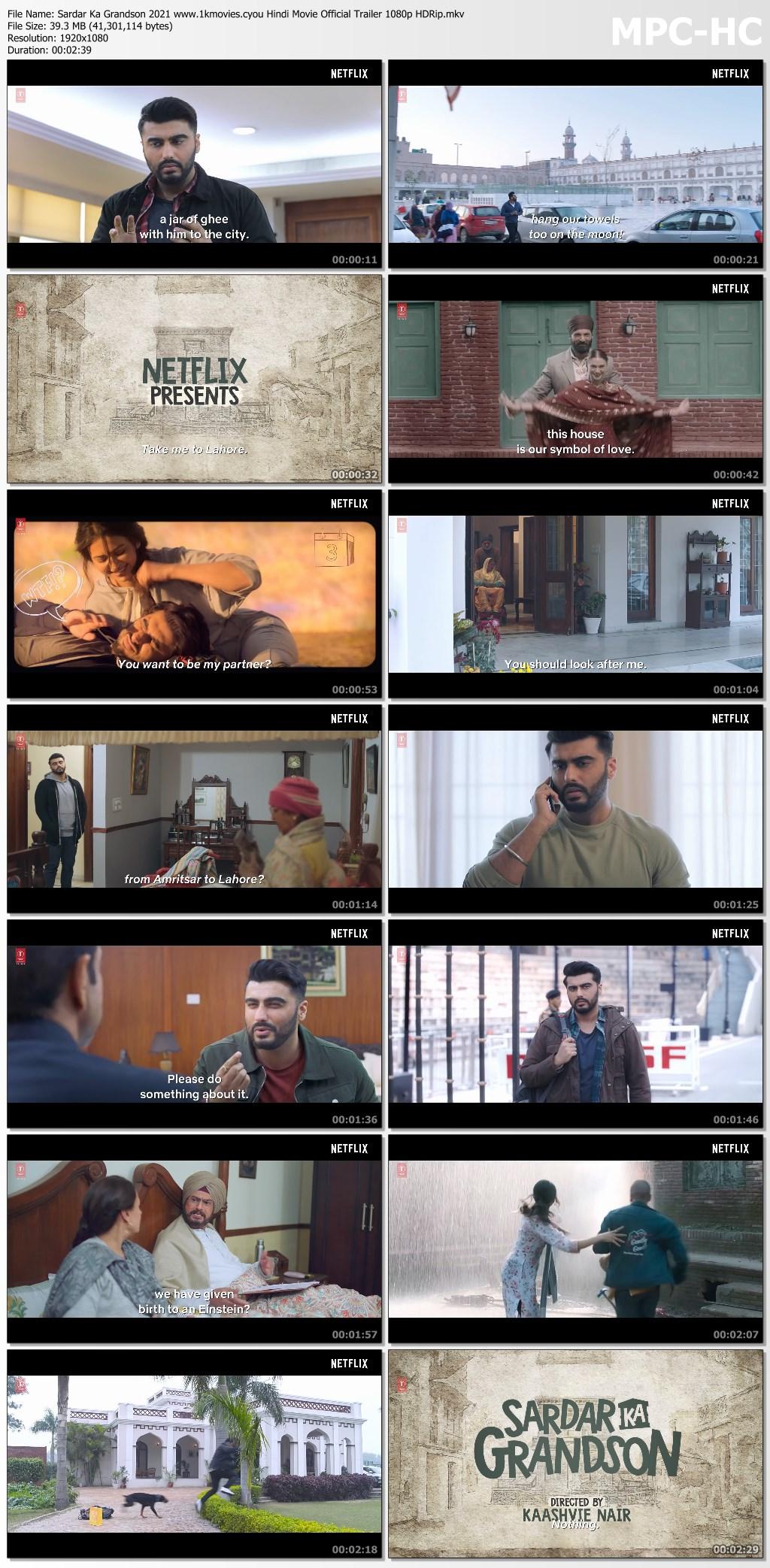 Sardar Ka Grandson 2021 screenshot HDMoviesFair