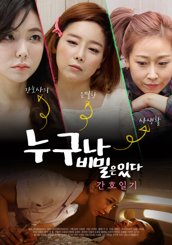 18+ Everyone Has Secrets-Nursing Diary 2021 Korean Movie 720p HDRip 500MB Download