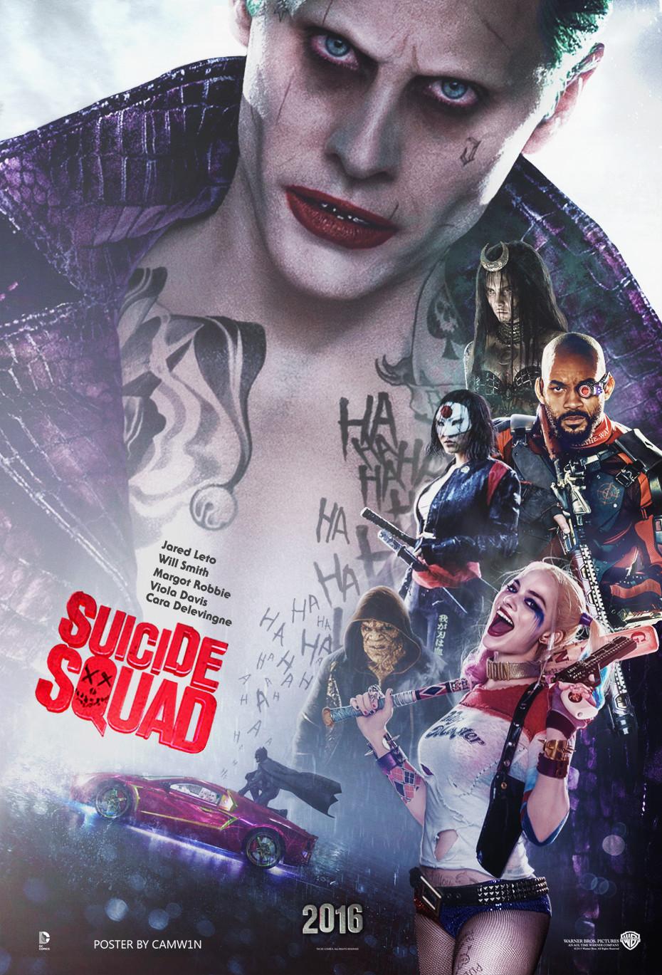Suicide Squad 2016 Hindi Dual Audio 1080p BluRay 1.7GB Download