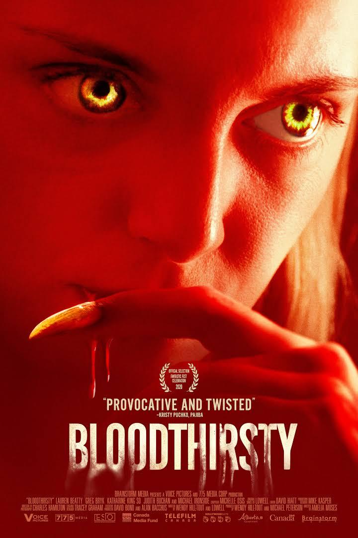 Bloodthirsty 2021 English 720p HDRip 800MB