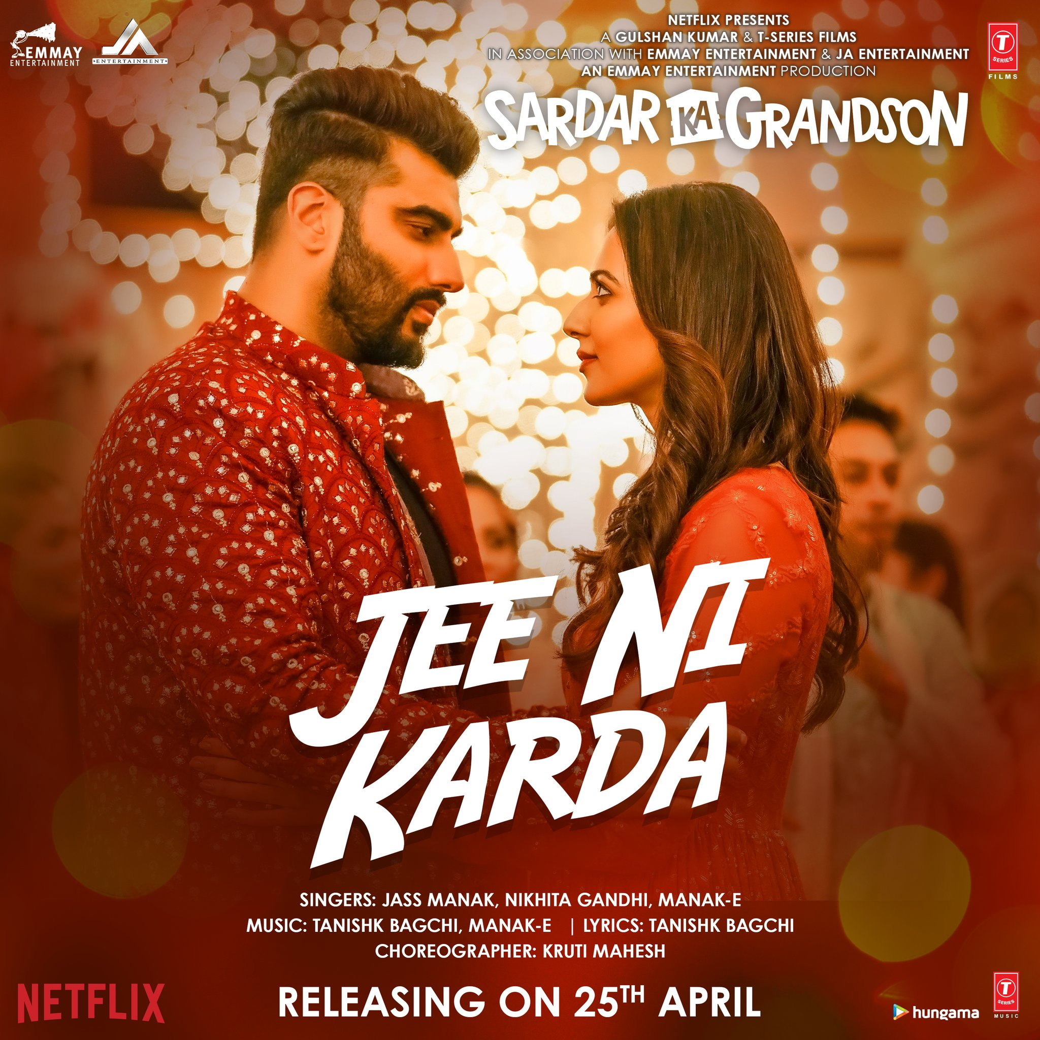 Jee Ni Karda (Sardar Ka Grandson) 2021 Hindi Video Song 1080p HDRip 55MB Download