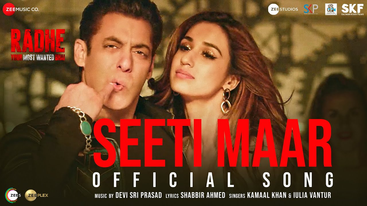 Seeti Maar (Radhe Your Most Wanted Bhai) 2021 Hindi Movie Video Song 1080p HDRip 70MB Download
