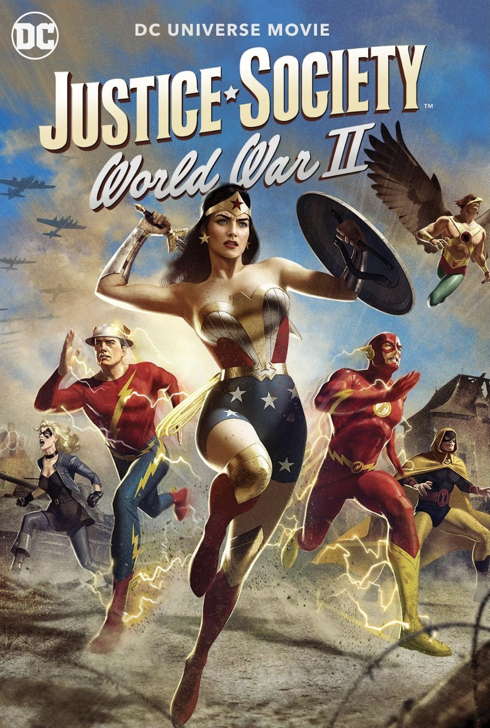 Justice Society World War II 2021 Dual Audio 720p HDRip [Hindi – English] Free Download