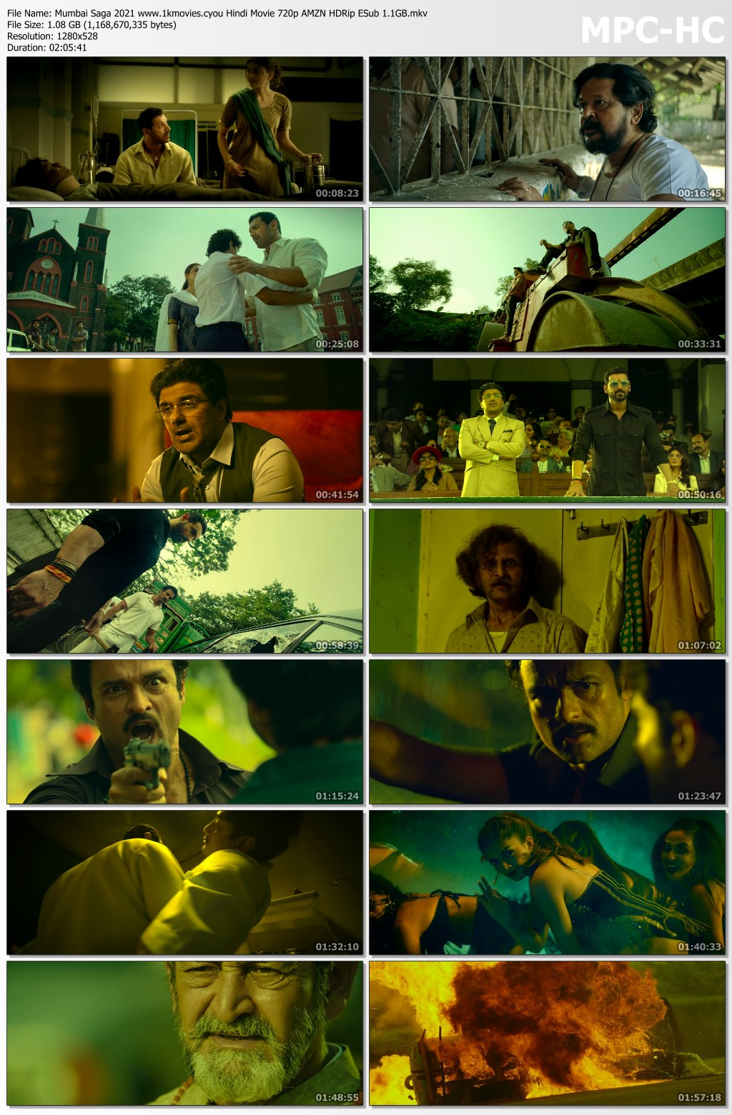 Mumbai Saga 2021 Hindi Movie Download Full HD