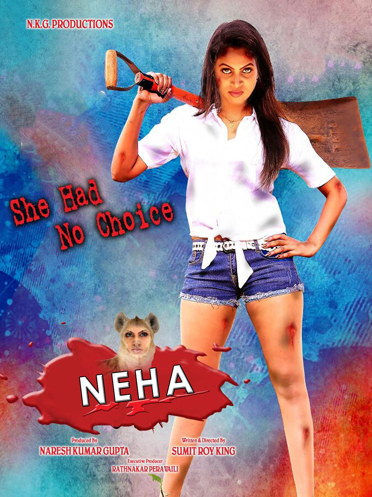 Neha 2021 Telugu Full Movie 380MB HDRip ESub Download