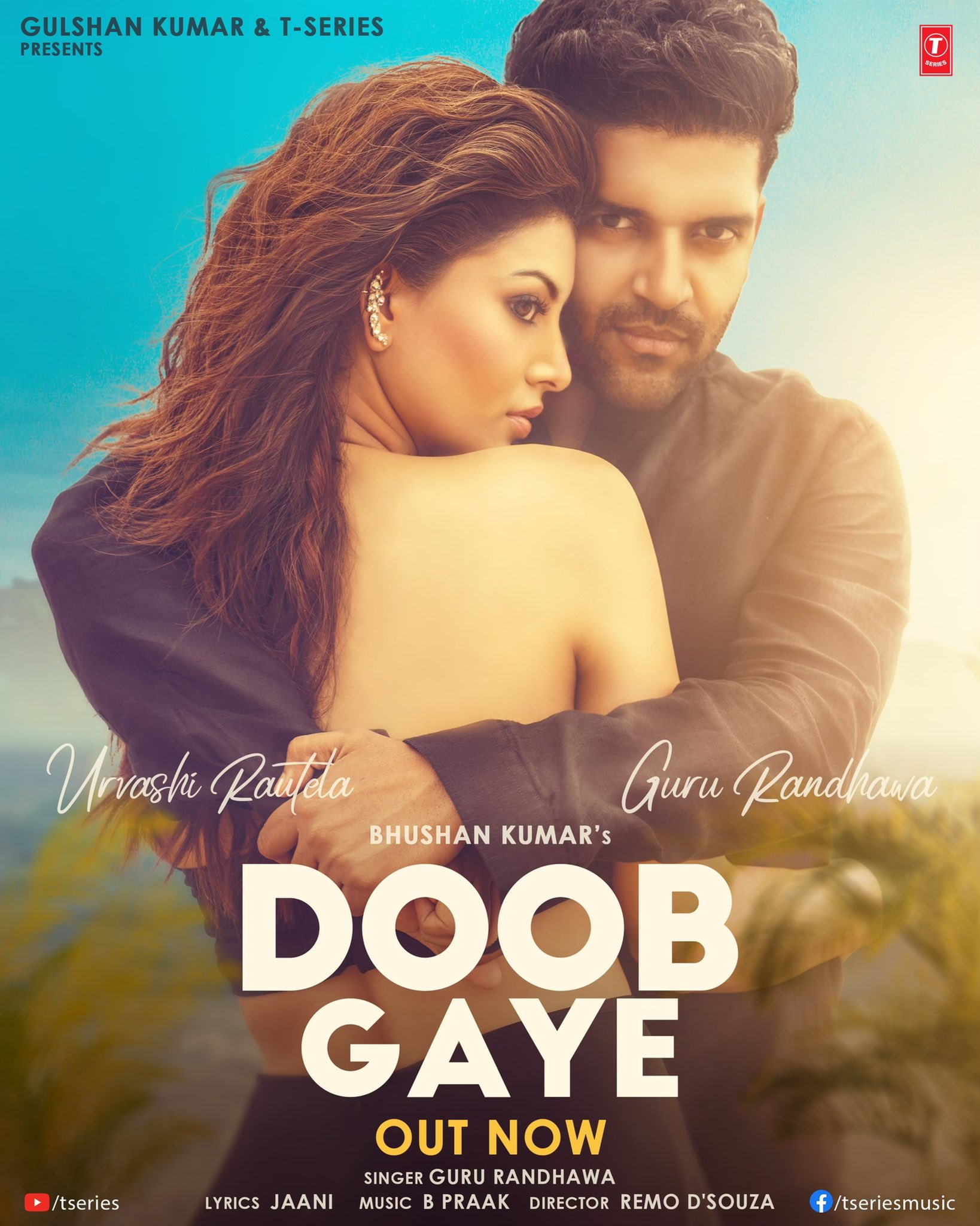Doob Gaye By Guru Randhawa Official Video Song 1080p HDRip 96MB Download