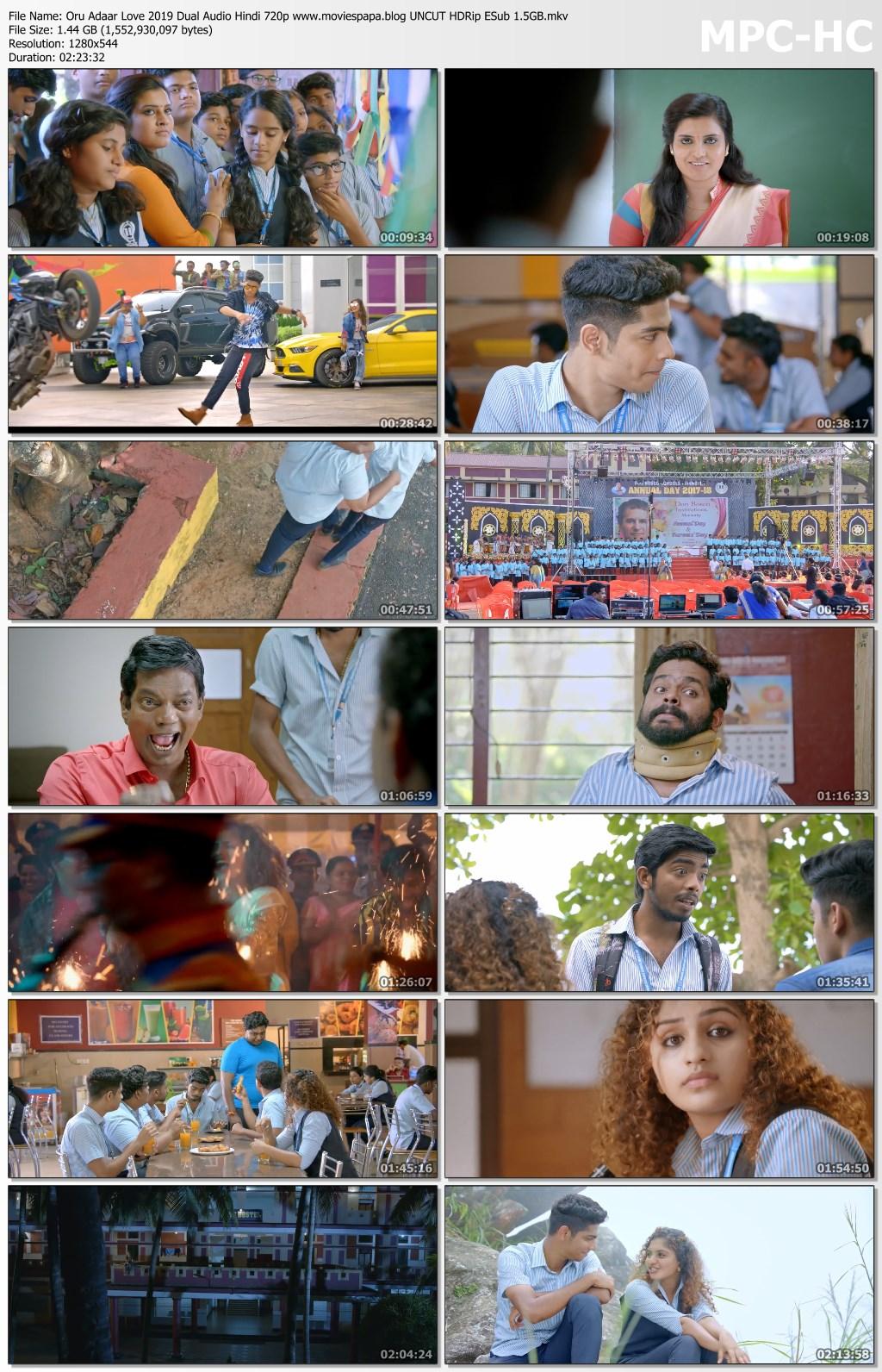 Oru Adaar Love 2019 screenshot HDMoviesFair