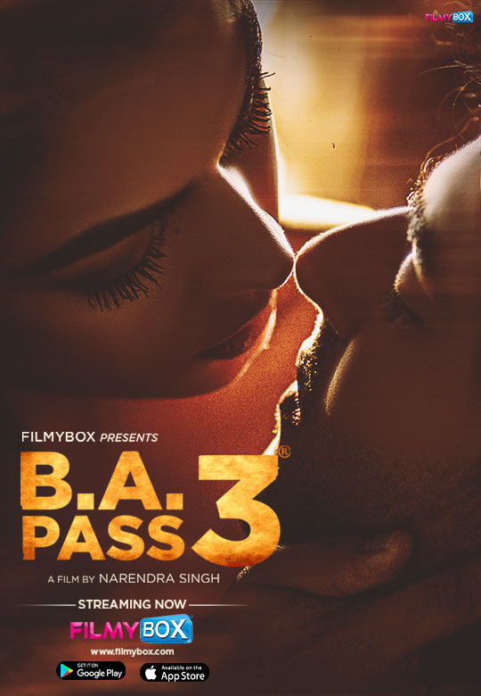 18+ B.A. Pass 3 2021 Hindi 720p UNRATED HDRip 950MB Download
