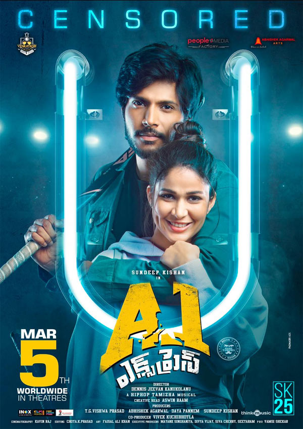 A1 Express 2021 Telugu Movie 720p HDRip ESubs 1.3GB x264 AAC